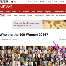 Who are the 100 Women 2014? BBC included Uldus to Top 100