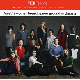 Uldus is honorable among 12 women breaking new ground in the arts!