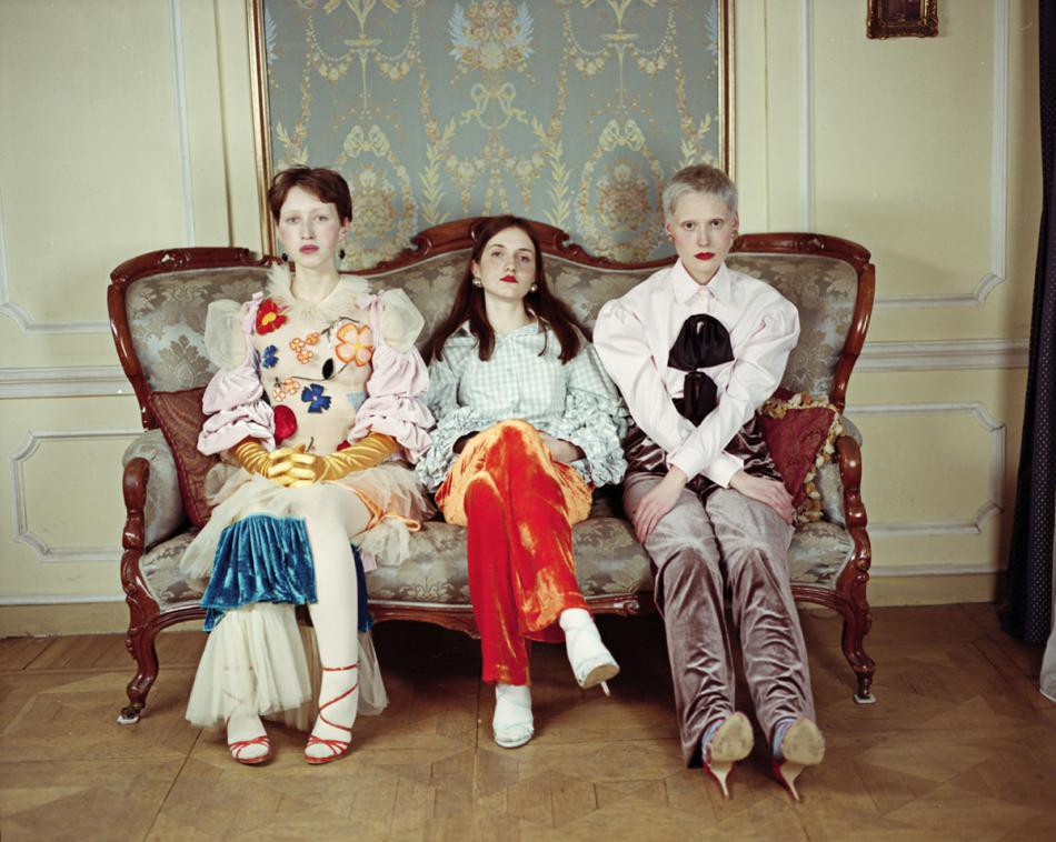 Three sisters. Fashion story. Brand Naya Rea