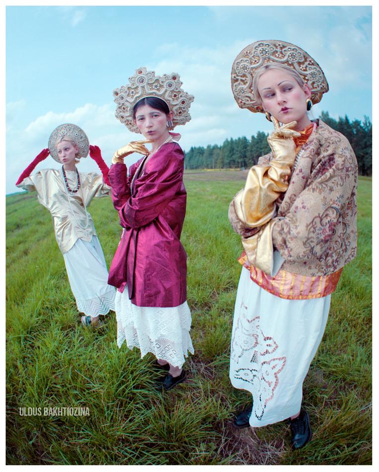 FASHION IN RUSS LAND