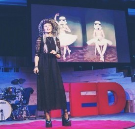 Snap shot from my talk at TED March 2014