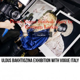 Uldus's works at Photo Vogue Festival